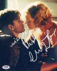 Charlize Theron Matt Damon Signed Legend of Bagger Vance 8x10 Photo PSA/DNA COA
