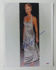 Charlize Theron Signed Authentic Autographed 11x14 Photo (PSA/DNA) #K03423