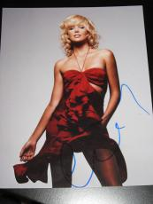 CHARLIZE THERON SIGNED AUTOGRAPH 8x10 DIOR BEAUTY COA G