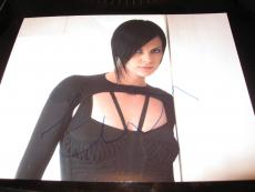 CHARLIZE THERON SIGNED AUTOGRAPH 8x10 PHOTO AEON FLUX PROMO IN PERSON COA AUTO D