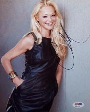 Charlotte Ross Signed 8x10 Photo Auto Autograph PSA Y34642 NYPD Blue