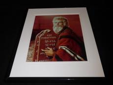 Charlton Heston Ben Hur Framed 8x10 Photo Poster