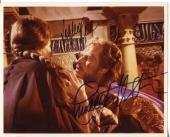 Charlton Heston Sophia Loren El Cid Rare Signed Autograph Photo COA