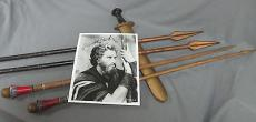 Charlton Heston The Ten Commandments  1956 Screen Used Props & Signed Photo JSA