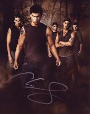 CHASE SPENCER signed *TWILIGHT SAGA* 8x10 Photo Sam Uley W/COA #1