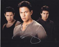 Chaske Spencer Signed 8x10 Photo w/COA Twilight Saga Sam Uley #2