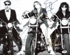Cheap Trick (3) Nielsen, Zander & Petersson Signed 11X14 Photo PSA/DNA #Y06723