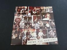 Cheap Trick all 4 Signed Autographed We're All Alright Cd Book PSA Guaranteed