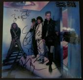 """Cheap Trick Autographed """"All Shook Up"""" Album Signed by 4 PSA DNA COA"""