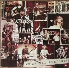 Cheap Trick Band Signed by 4 CD Booklet - Beckett BAS
