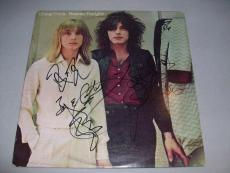 "CHEAP TRICK GROUP signed autographed ""HEAVEN TONIGHT"" LP RECORD PSA/DNA LOA!"