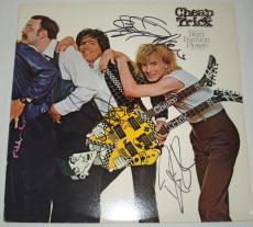 Cheap Trick Hand Signed   Autographed Next Position Please Album   LP