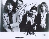 Cheap Trick Signed Autographed 8x10 Photo by 3 Robin Zander Nielsen Petersson B