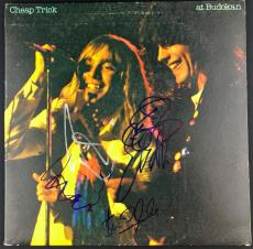 Cheap Trick Signed Autographed Budokan Album 4 Signatures PSA/DNA