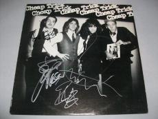 "CHEAP TRICK signed autographed ""CHEAP TRICK"" LP RECORD PSA/DNA LOA! COMPLETE!"
