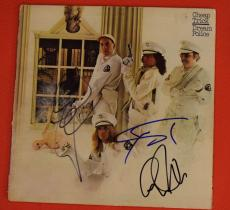Cheap Trick Signed Autographed Dream Police Record Album LP by 3 Zander