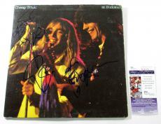 Cheap Trick Signed LP Record Album At Budokan 3 JSA AUTOS