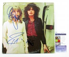 Cheap Trick Signed LP Record Album Heaven Tonight w/ 3 JSA AUTOS