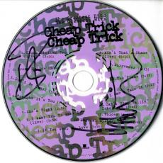 Cheap Trick X2 Autographed Signed Greatest Hits CD AFTAL UACC RD COA