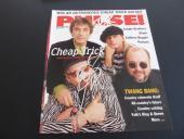 Cheap Trick x2 Signed Pulse Magazine Cover Photo PSA Beckett Guaranteed
