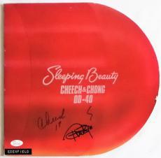 Cheech and Chong Cheech Marin Tommy Chong Signed Vinyl Record JSA Authentic 1