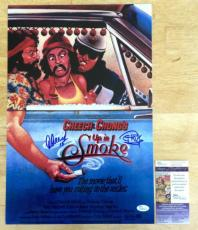 Cheech And Chong *Up In Smoke* Signed 12x18 Poster #2 JSA COA
