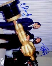 Cheech Chong Jsa Coa Autograph 8x10 Hand Signed Photo Authenticated