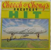 Cheech & Chong Signed Authentic Autographed Album Cover PSA/DNA #AD14409