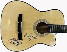 Cheech & Chong Up In Smoke Signed Guitar Psa/dna #p74121