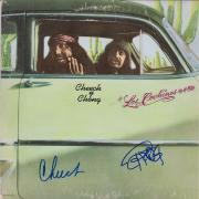 Cheech Marin and Tommy Chong Autographed Los Cochinos Album - JSA