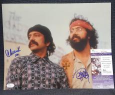 CHEECH MARIN and TOMMY CHONG Signed Autograph Up in Smoke 11x14 Photo. JSA