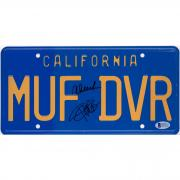 Cheech Marin & Tommy Chong Autographed California License Plate - BAS