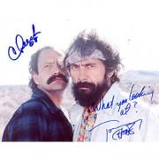Cheech Marin & Tommy Chong Autographed Celebrity 8x10 Photo