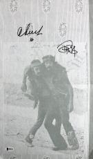 Cheech Marin & Tommy Chong Signed 10.5x18 Rolling Paper BAS #B18199