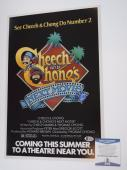 Cheech Marin & Tommy Chong Signed Autographed 12x18 Poster Next Movie  BAS COA
