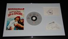 Cheech Marin & Tommy Chong Signed Framed Up in Smoke DVD Display