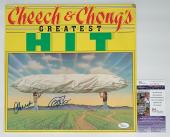 Cheech Marin & Tommy Chong Signed Greatest Hit Record Album Jsa Coa L51824