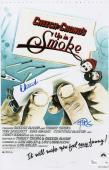Cheech Marin & Tommy Chong Signed Up In Smoke 11x17 Movie Poster Jsa Coa L87310