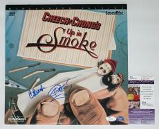 Cheech Marin & Tommy Chong (sketch) Signed Up In Smoke Laserdisc Jsa Coa N26709