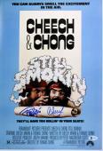 Cheech Marin & Tommy Chong Still Smokin Signed 12x18 Movie Poster BAS #C19935