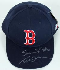 "Cheers Ted Danson ""Sam Malone"" Signed Boston Red Sox Baseball Hat BAS #B51774"