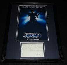 Chelsea Field Signed Framed 11x14 Note & Photo Masters of the Universe