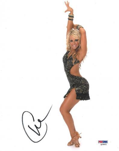 Chelsea Hightower Signed DWTS Authentic Autographed 8x10 Photo (PSA/DNA) #Q33621