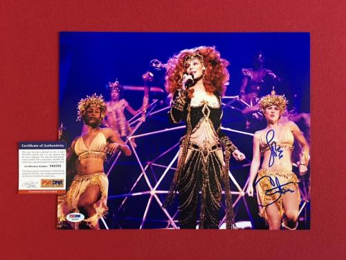 "Cher, ""Autograpehed"" 11x14 Color Photo (PSA / DNA)"