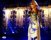 "Cher Autographed 11""x 14"" Pyrotechnics Photograph - PSA/DNA COA"