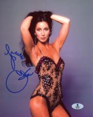 """Cher Autographed 8"""" x 10"""" Posing Photograph - Beckett COA"""