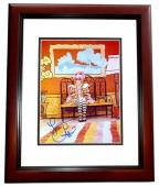 Cher Signed - Autographed 8x10 inch Photo MAHOGANY CUSTOM FRAME - Guaranteed to pass PSA or JSA