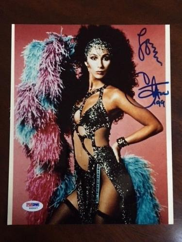 "CHER, ""Autographed"" 8x10 Photo (PSA/DNA)"