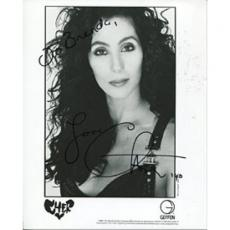 Cher Autographed/Signed 8x10 Photo