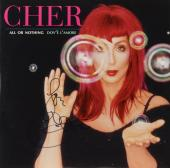 Cher Autographed All Or Nothing Album Cover - PSA/DNA COA
